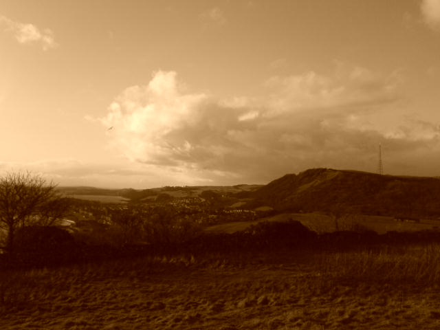 View of The Binn from Dodsheed Hill