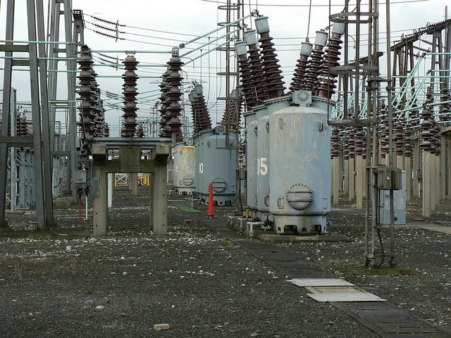Detail of Electricity Substation