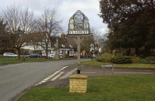 Village Sign, Fladbury
