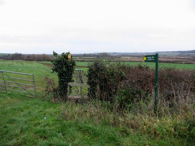 Jurassic Way near to Bringhurst