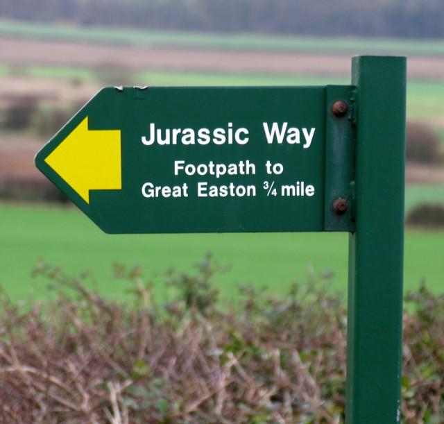 Jurassic Way sign