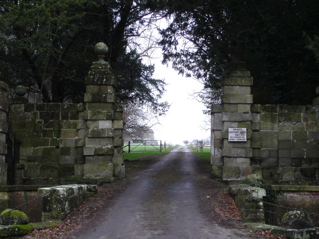 Grand Entrance to Eastbury House