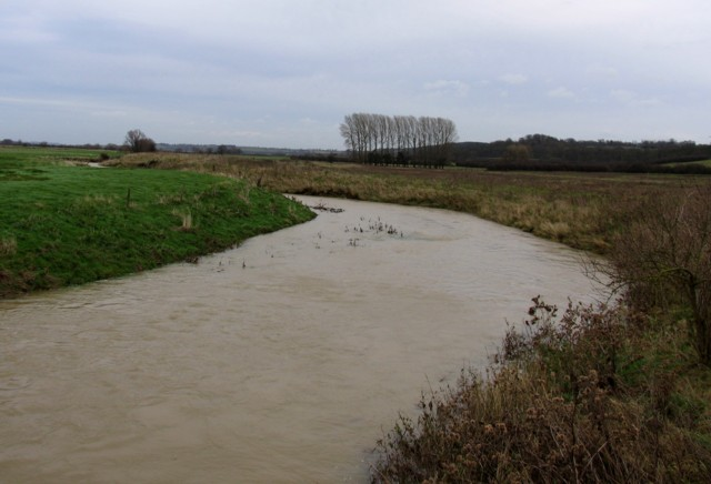 River Welland flowing to the East