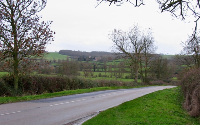 From B664 towards Stockerston Hall