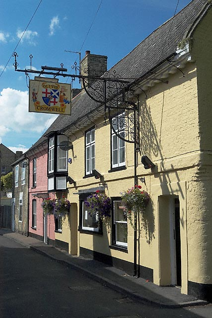 Oliver Cromwell Public House, Wellington Street, St Ives
