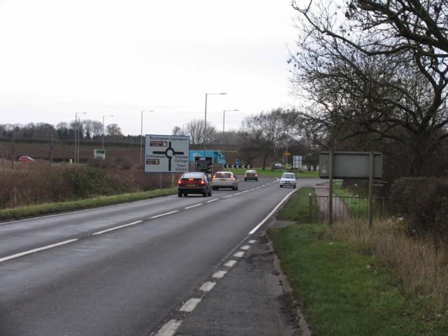 A6003/A427 roundabout