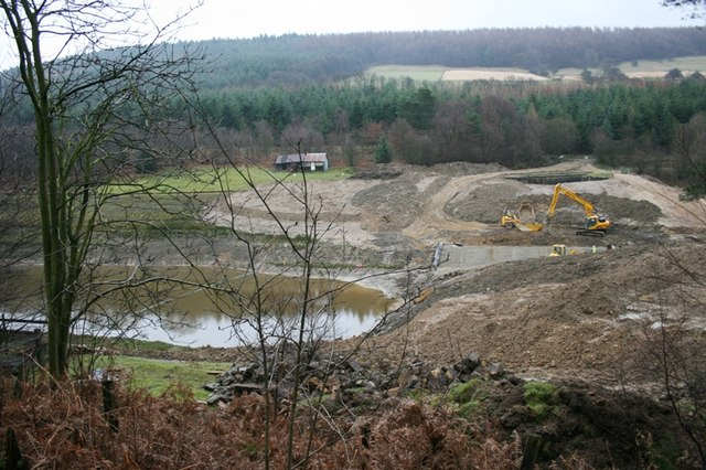 Construction Work, Lunshaw Reservoir