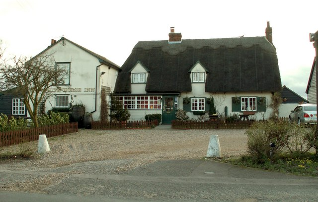'The White Horse Inn' at Withersfield