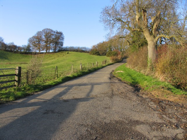 Lane from Theddingworth to Laughton Hills