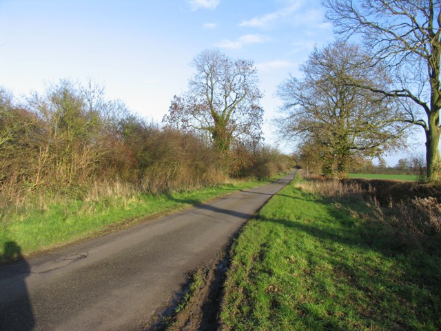 Country road to the East