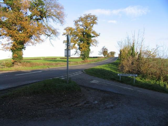 Scorborough Road/Harborough Road junction