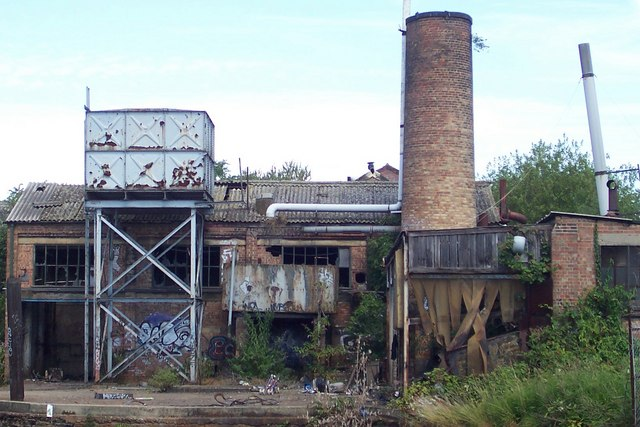 Derelict Factory - Alperton