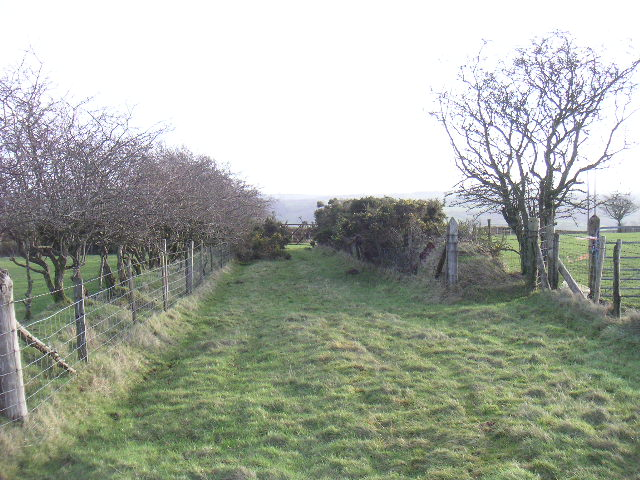 footpath from show ground