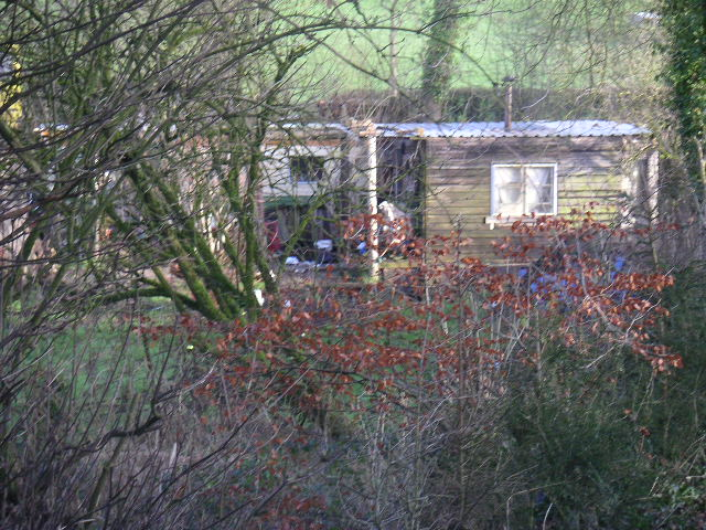 The abode of 'Ed the Shed'