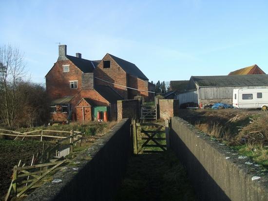 Footbridges at Somerford Mill