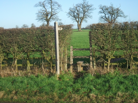 Footpath to Crateford