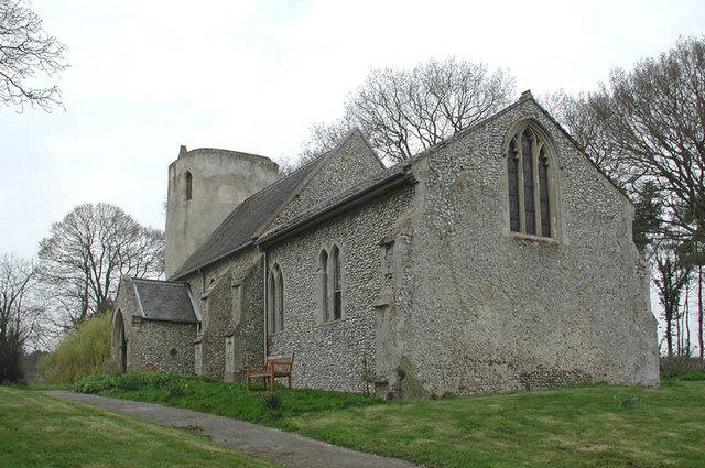 St Nicholas, West Lexham, Norfolk