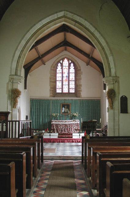 St Nicholas, West Lexham, Norfolk - East end