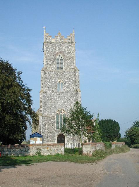 St Andrew, Wickhampton, Norfolk