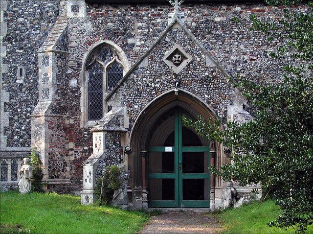 St Peter & St Paul, Halvergate, Norfolk - Porch
