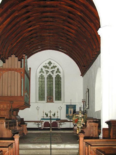 St Peter & St Paul, Halvergate, Norfolk - Chancel