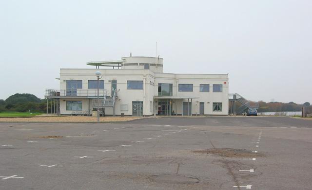 Hayling Golf Club clubhouse