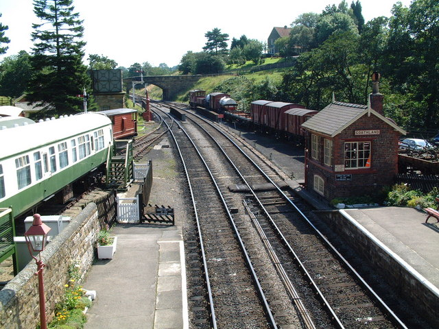 Goathland Station looking south