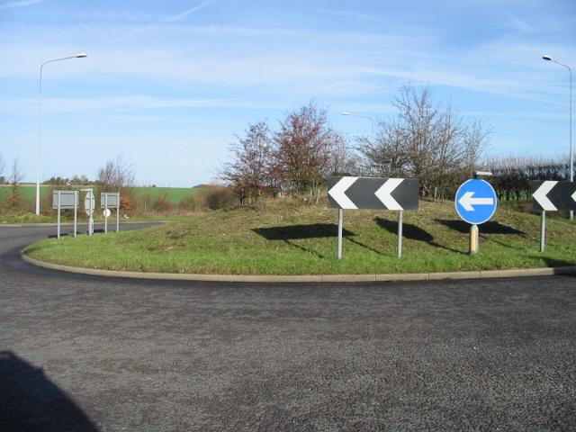 Roundabout NE of A2