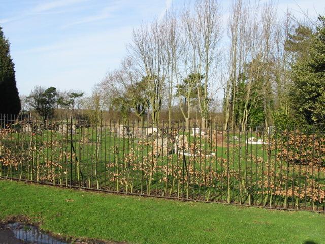Aylesham cemetery