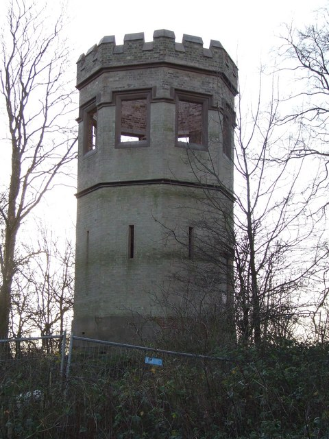 The Tower in the grounds of Castle Hill Hospital.