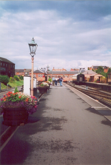SVR Kidderminster Town Station platforms
