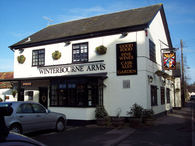 The Winterbourne Arms, Winterbourne Dauntsey