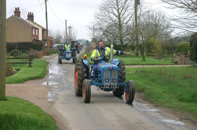 Vintage tractors Easter Rally