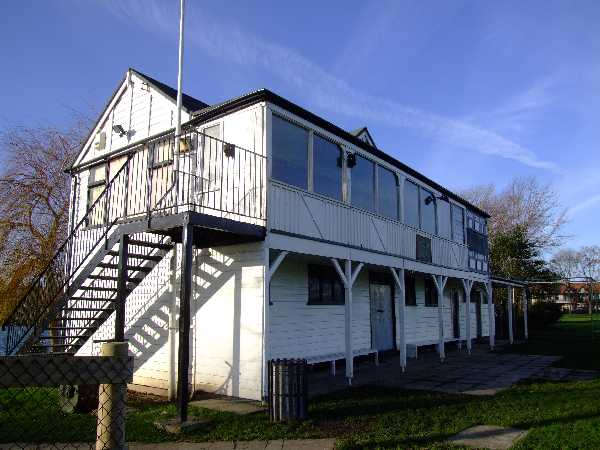 Cricket Club Pavilion, built 1929