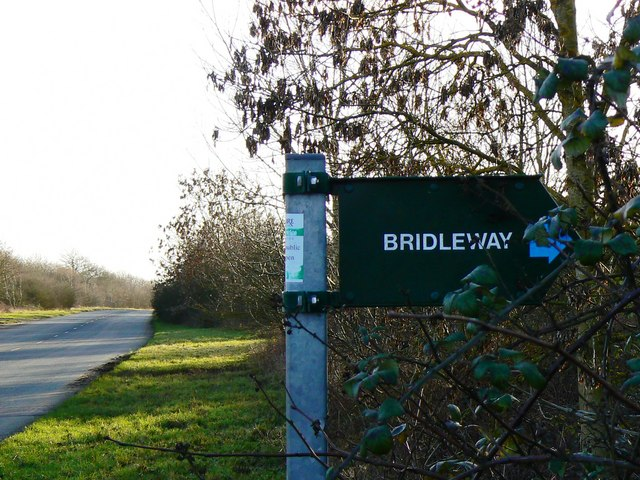 Bridleway signage