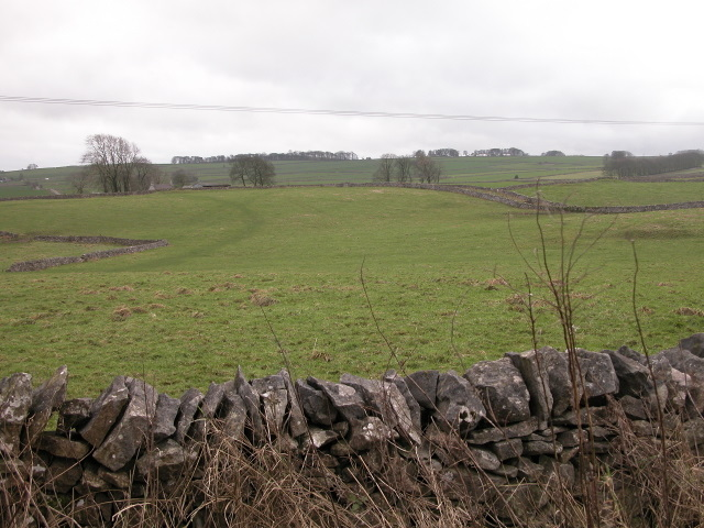 Over the fields to Back O Th Hill farm