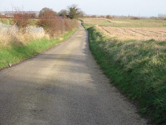 Lane along Brambling Downs.