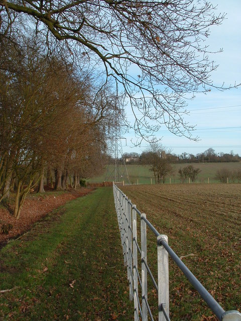 New Fence Along Footpath