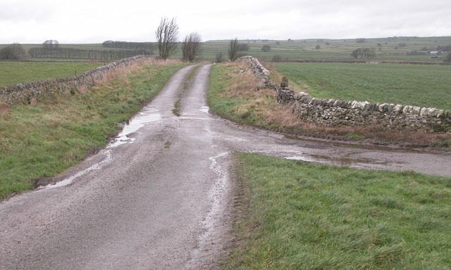 Lane to Back O Th Hill farm