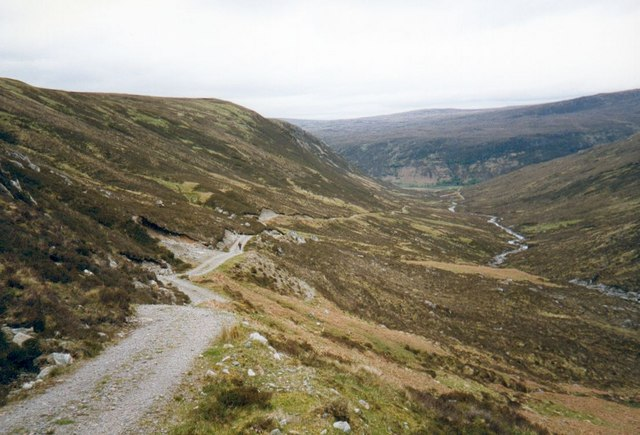 Land Rover Track in Gleann na Muice