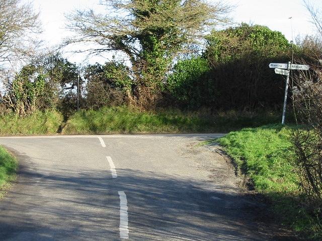 Junction of Bramling Road