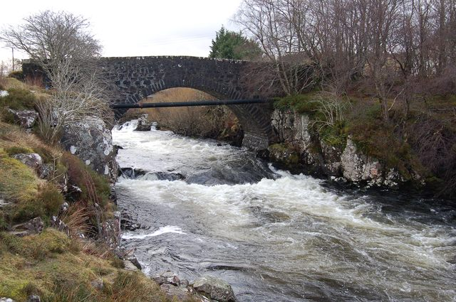 Skeabost Bridge
