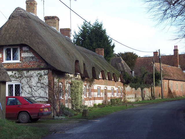 Thatched Cottages at West Amesbury
