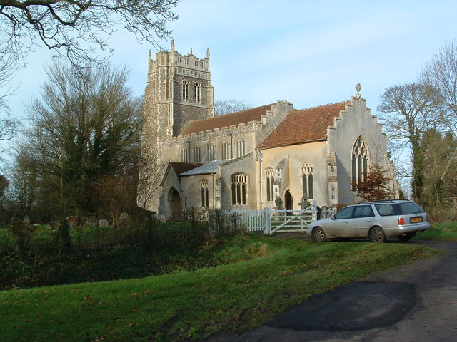 St.Mary's Church Stonham Parva