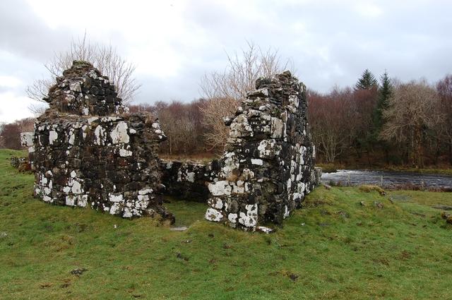 Chapel on Saint Columba's Isle