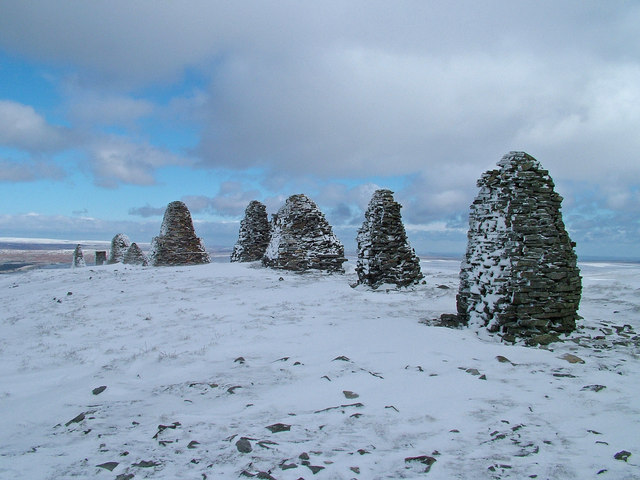 Winter at Nine Standards Rigg