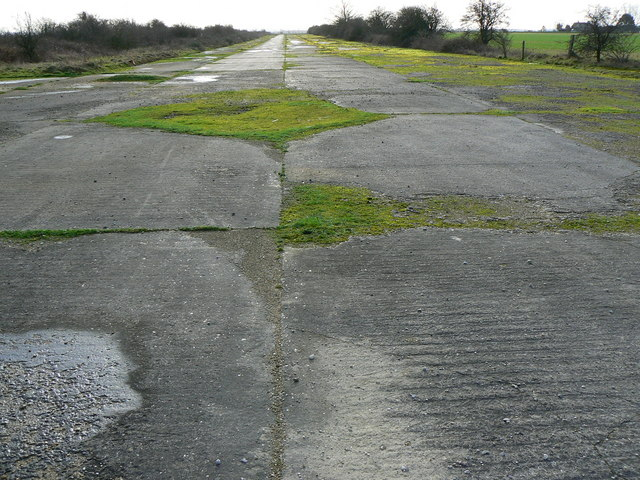 North to south runway, Broadwell airfield, Shilton, Burford