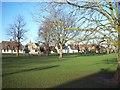 TL2070 : Brampton Village Green by Tim Fryer
