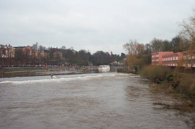 Weir on the Dee