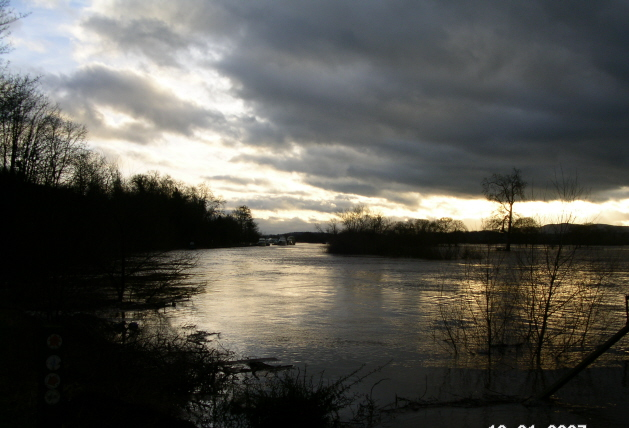 Severn in flood